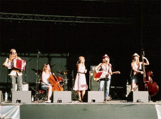 Urban Cowgirls på Lida Countryfestival